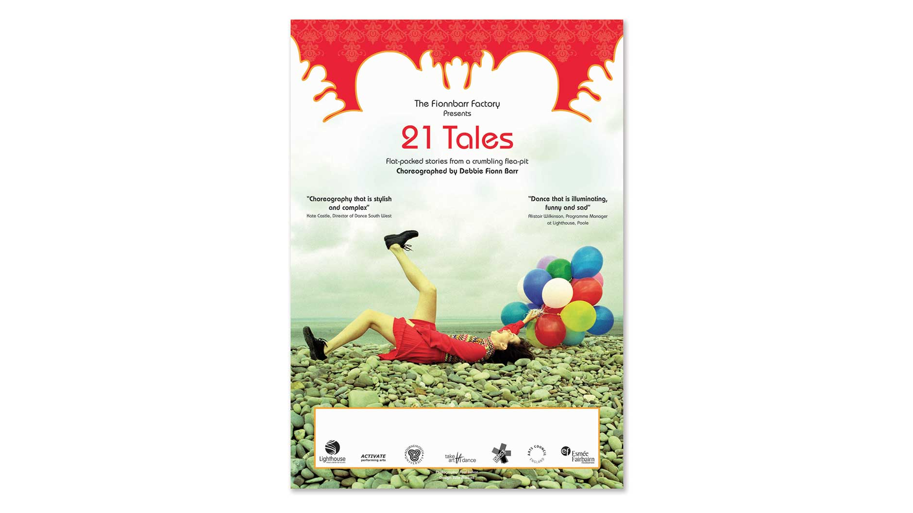 21 Tales poster design
