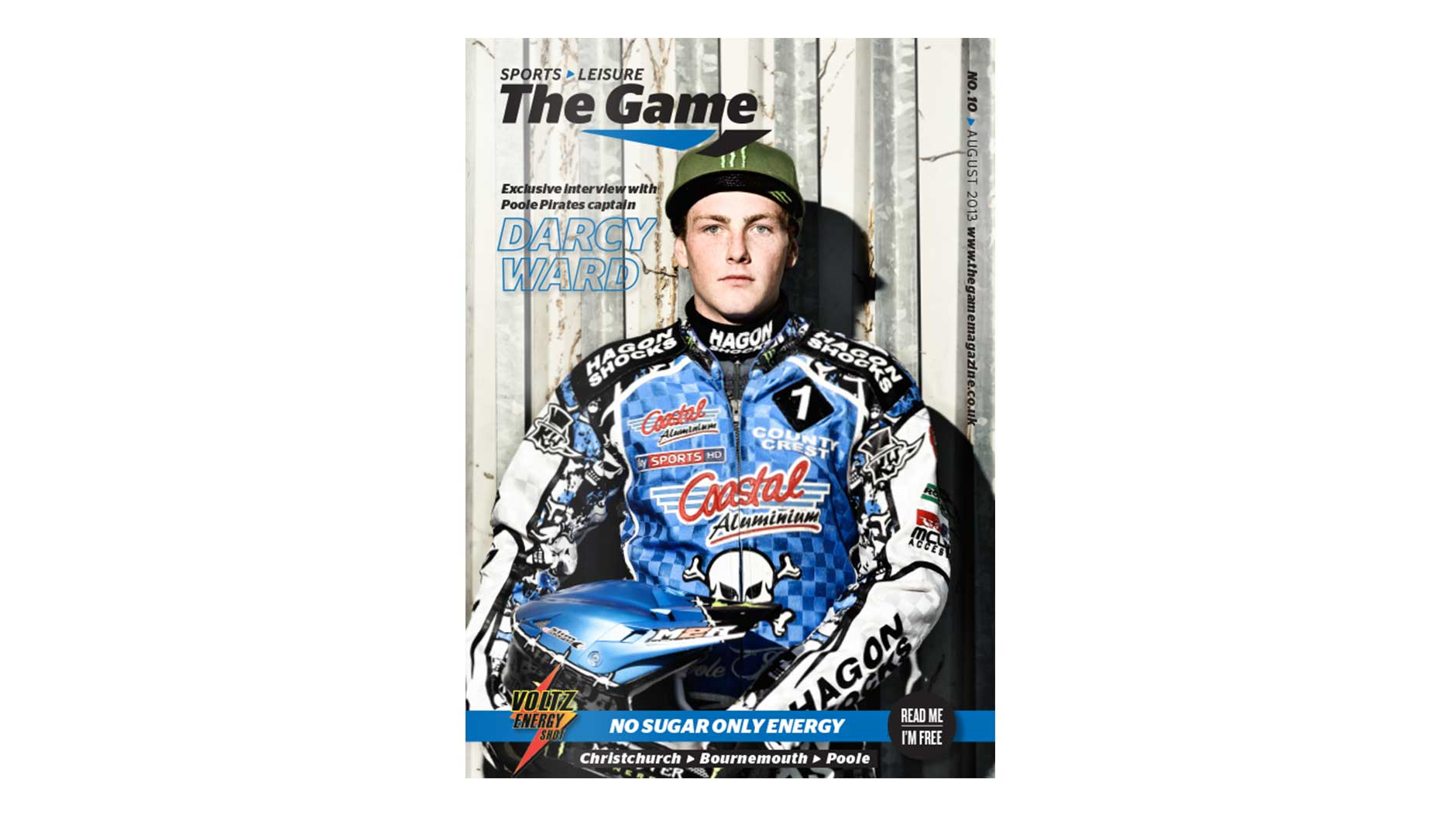 Game Magazine August 2013 front cover