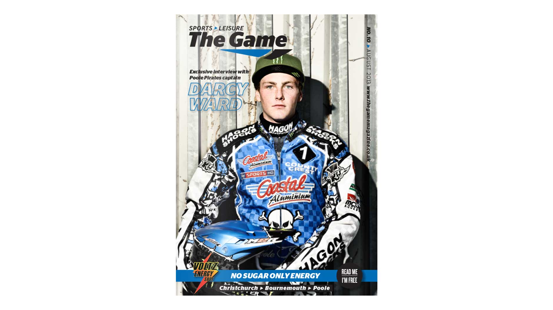 Game Magazine front cover August 2013 issue