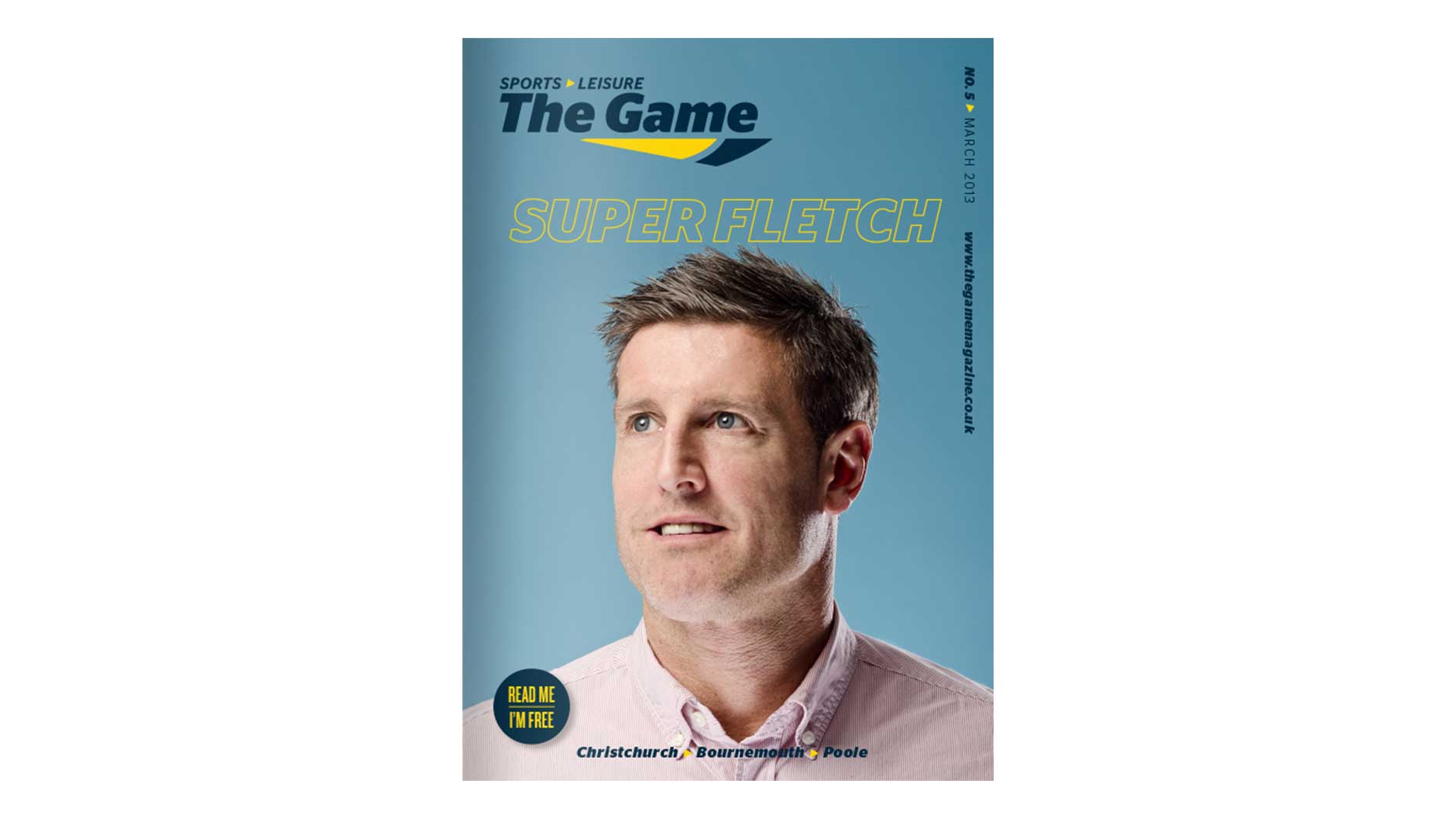 Game Magazine front cover March 2013 issue