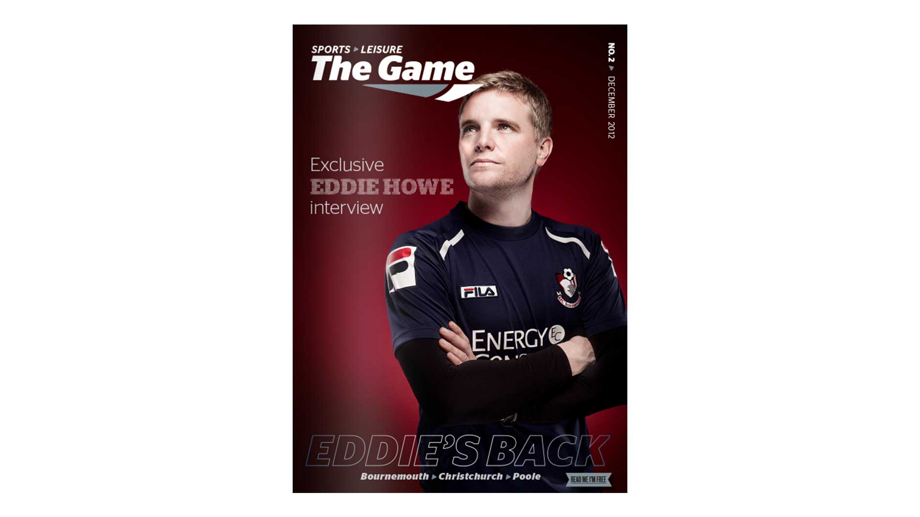 Game Magazine front cover December 2012 issue