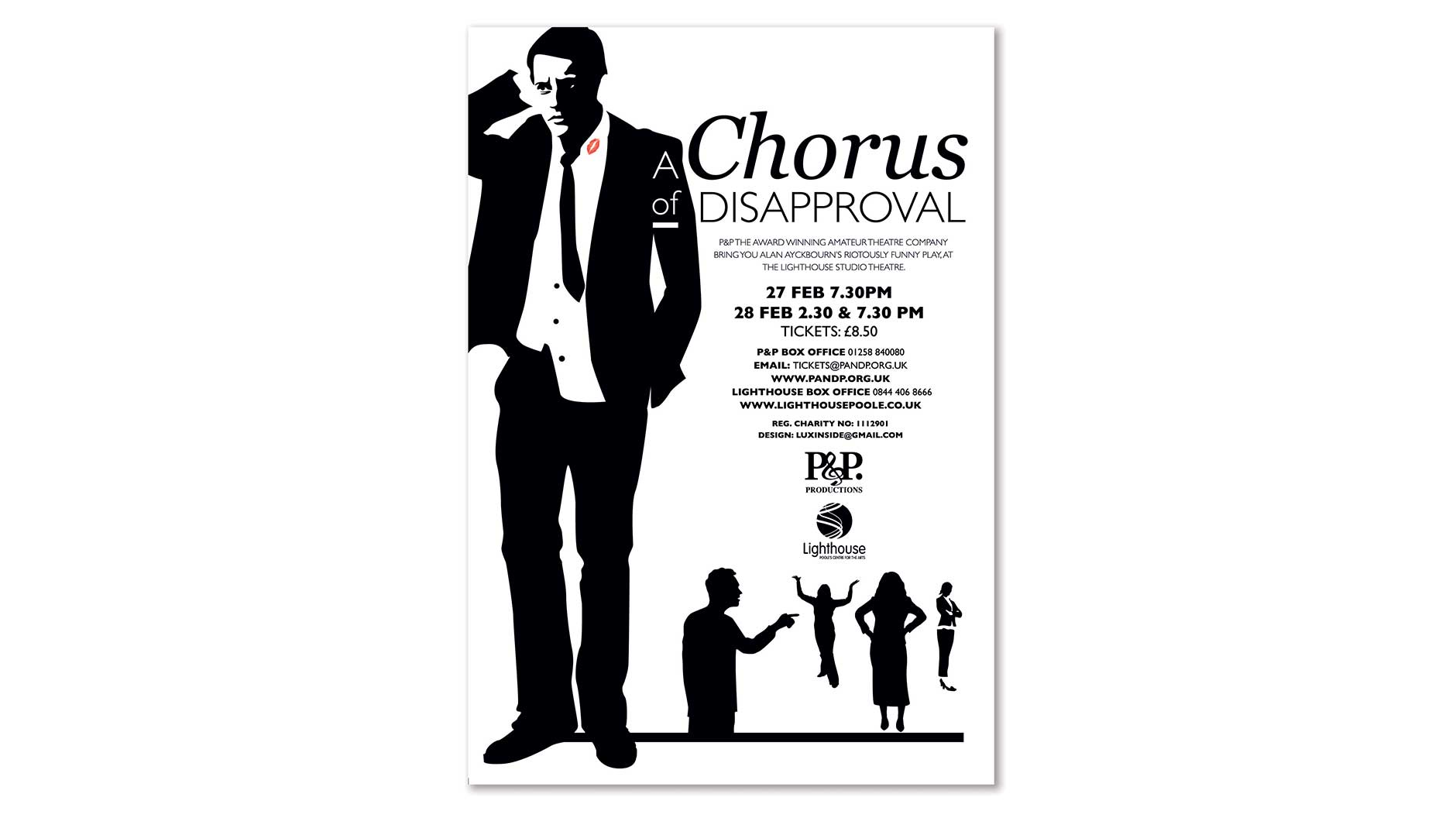 Chorus of Disapproval poster design