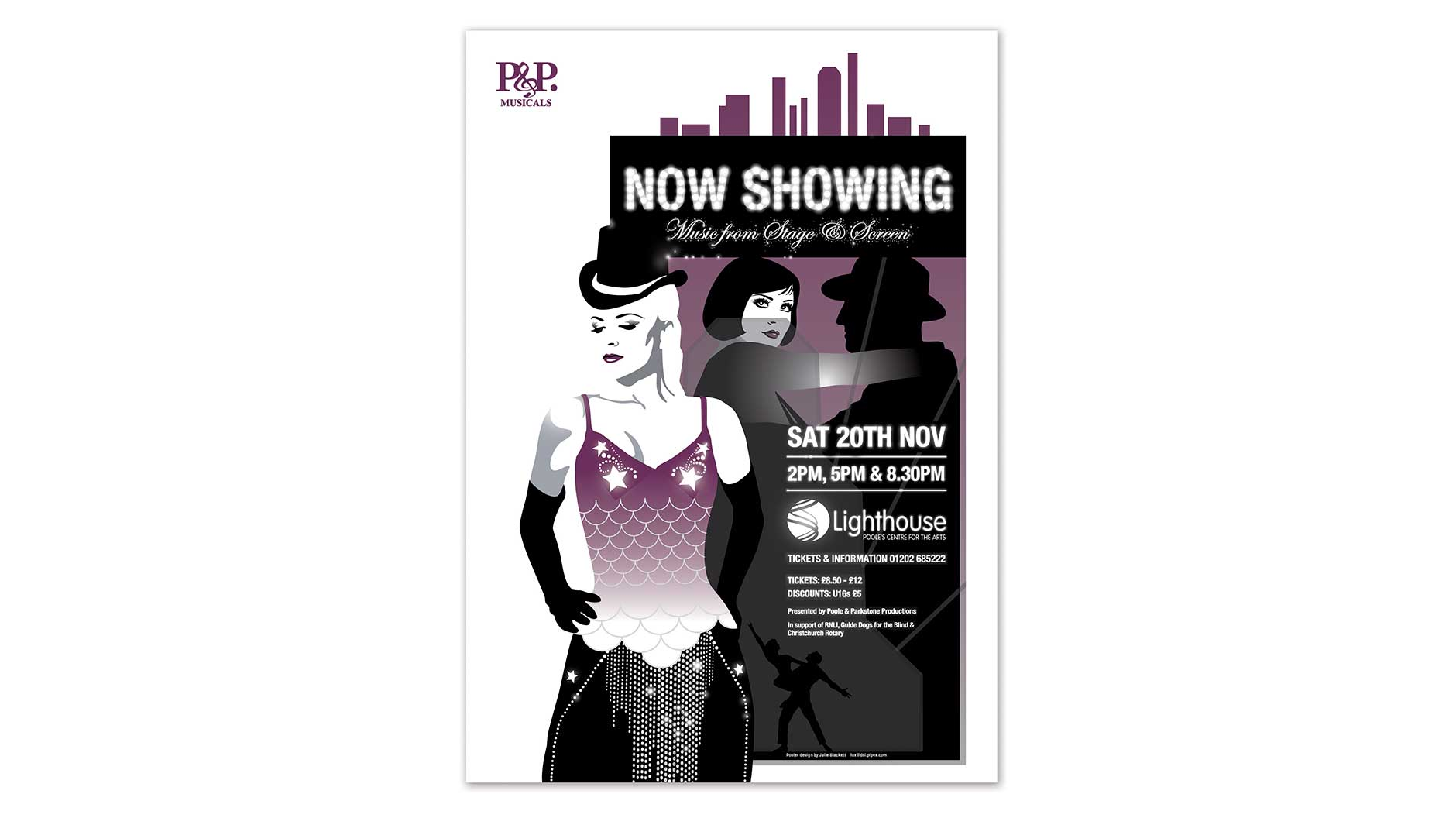 Now Showing poster design