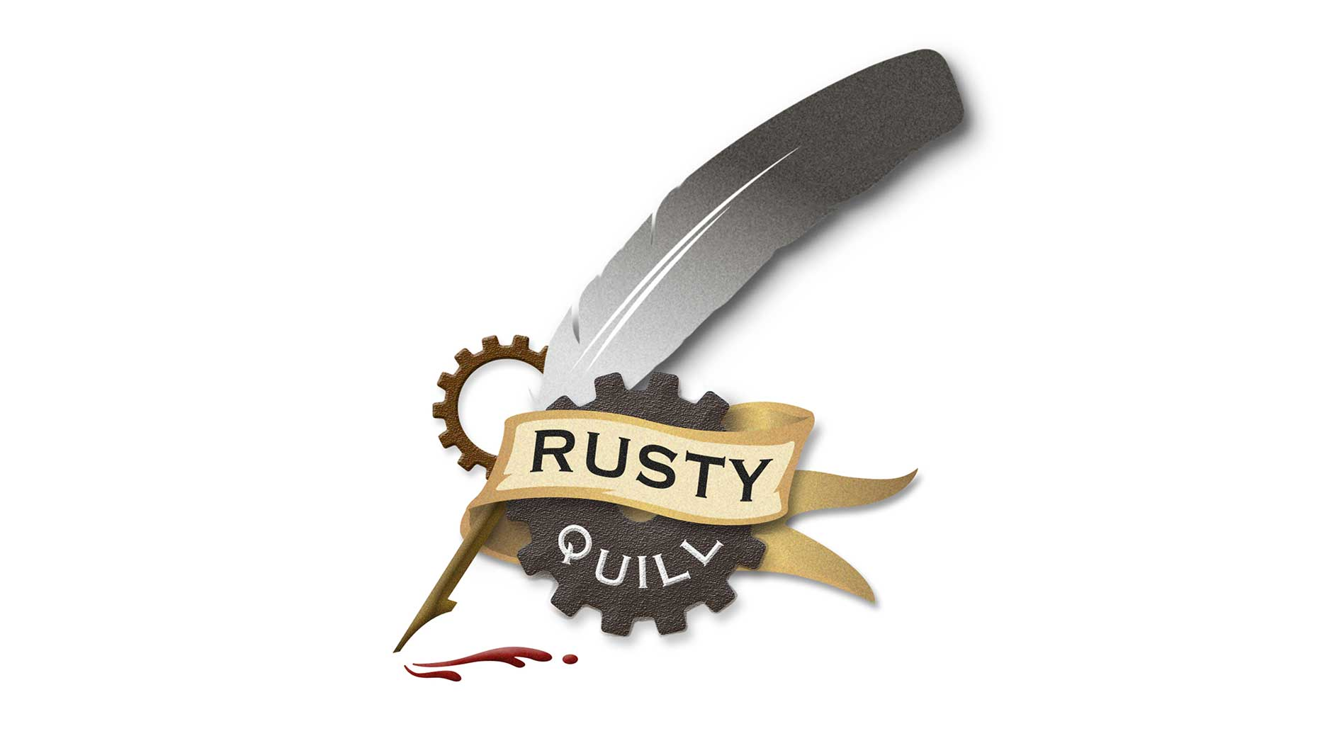 Rusty Quill logo design